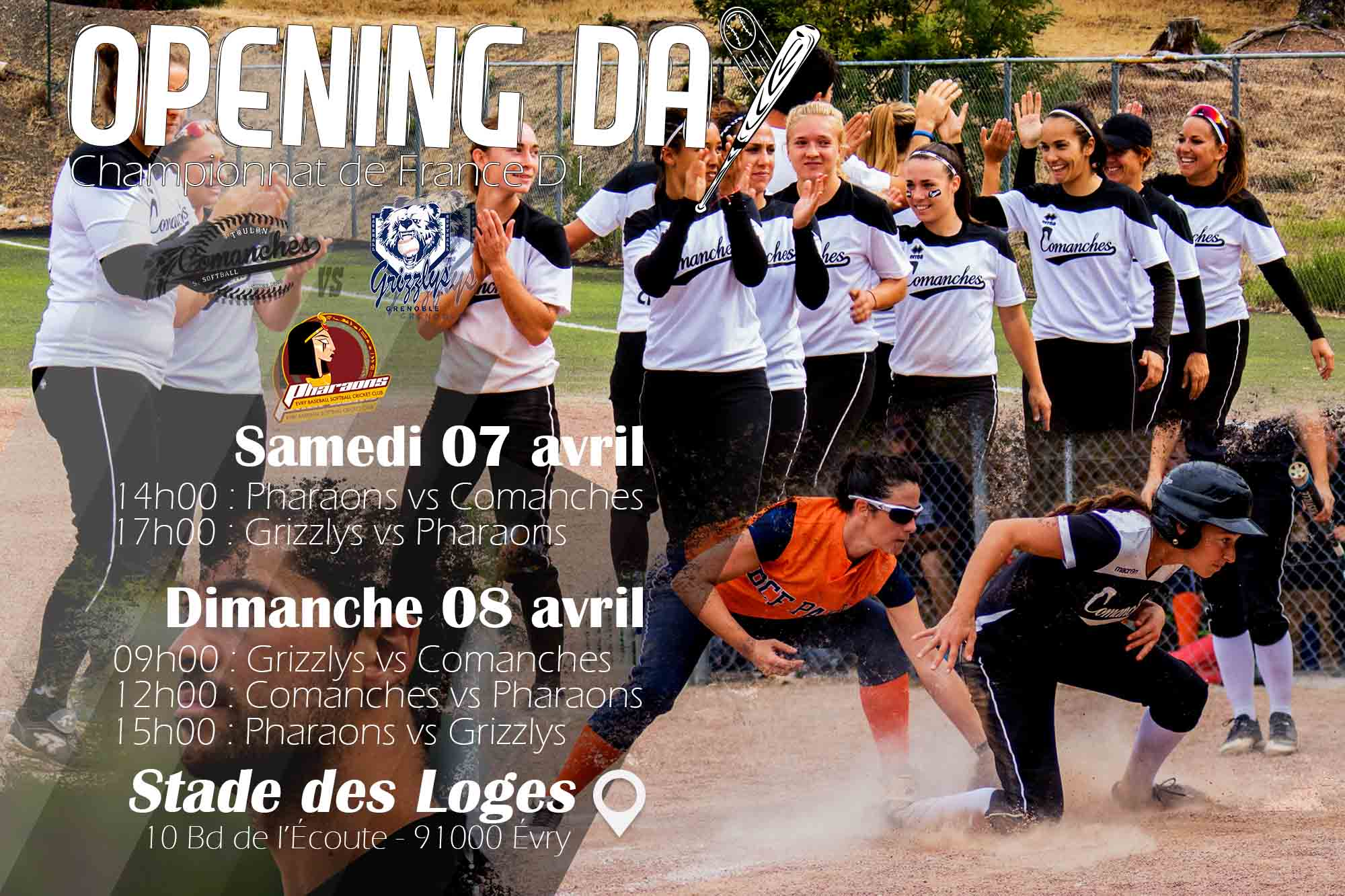OPENING DAY – Premier week-end de compétiton 2018